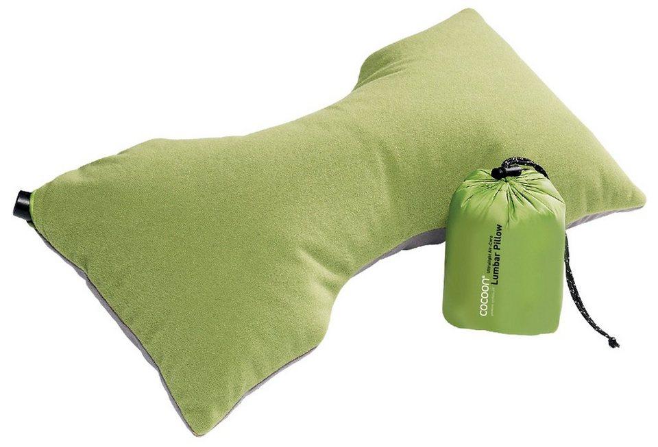 Cocoon Reisekissen »Air-Core Lumbar Support Pillow Ultralight« in grün