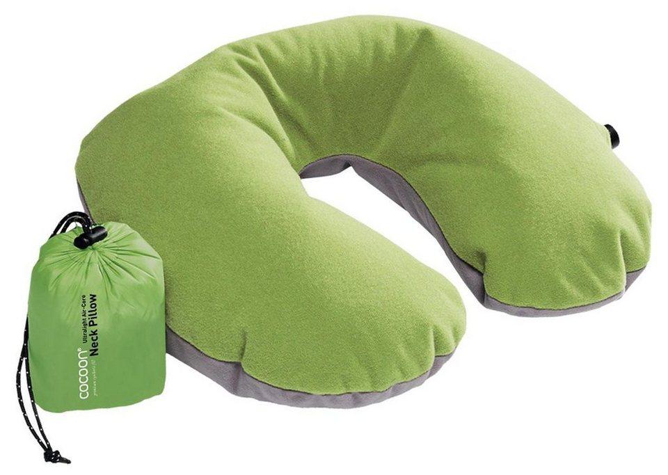 Cocoon Reisekissen »Air Core U-Shaped Neck Pillow Ultralight« in grün