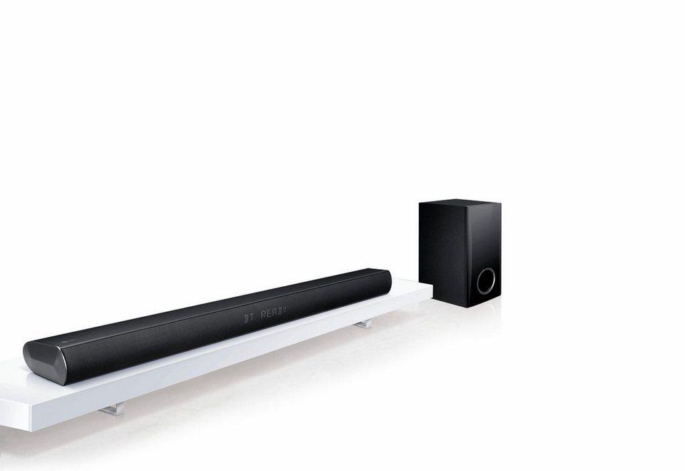 LG LAC450B Soundbar, 120 W, Bluetooth in schwarz