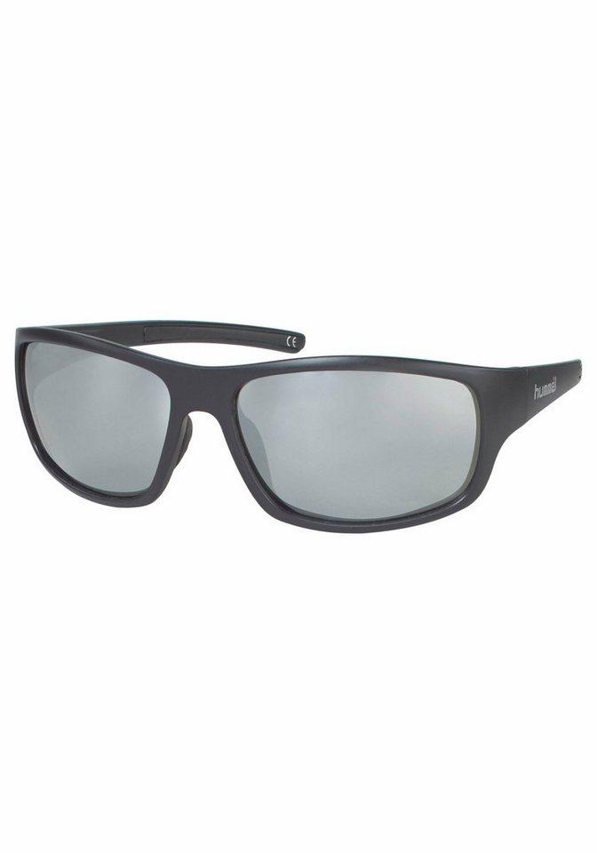 hummel Eyewear Sonnenbrille im sportlichen Design in grau