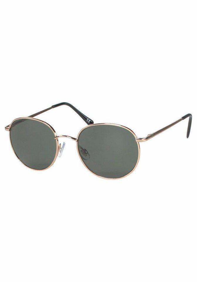 YOUNG SPIRIT LONDON Eyewear Sonnenbrille in runder Form in goldfarben