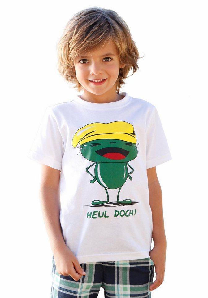 """KIDSWORLD T-Shirt """"Heul doch"""" in weiß"""