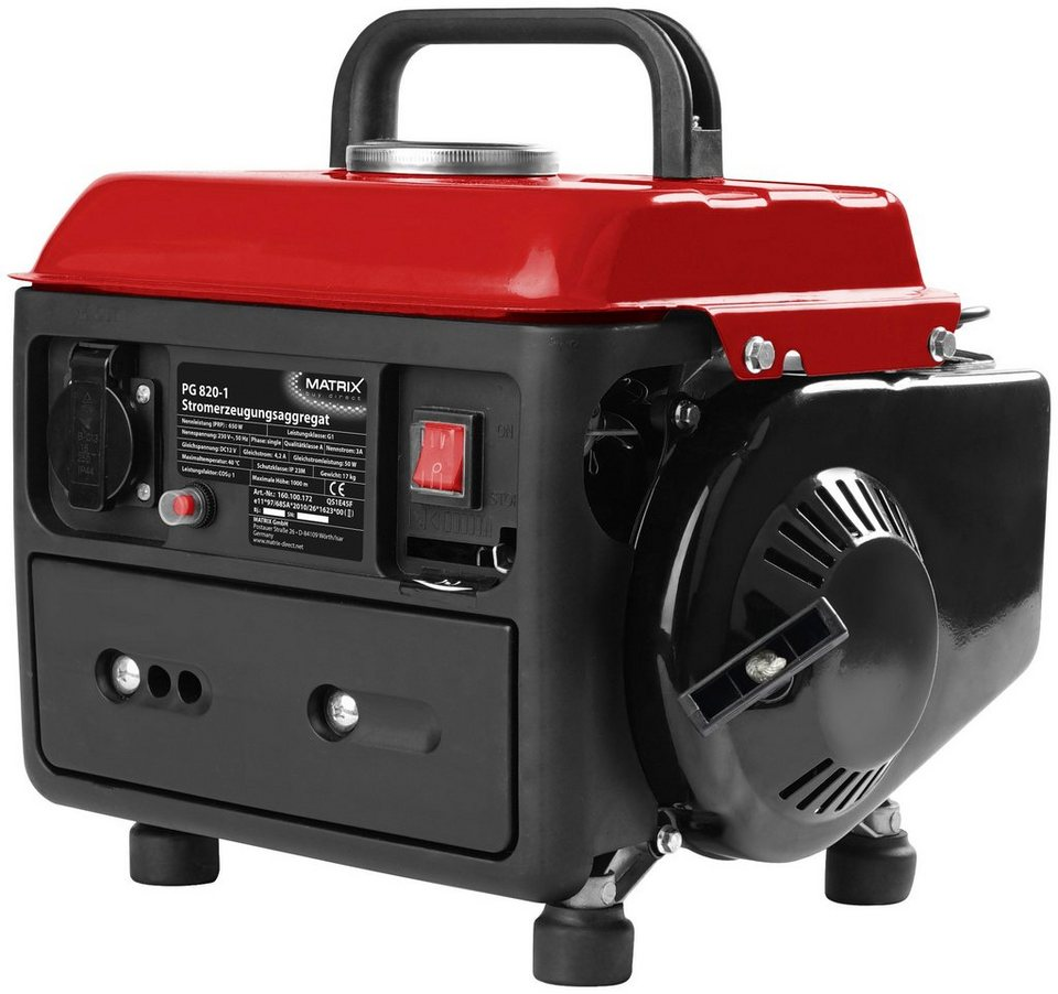 Stromerzeuger »PG 820« in rot