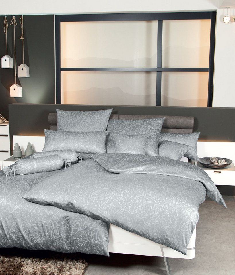 bettw sche janine paisley love mit gro em muster. Black Bedroom Furniture Sets. Home Design Ideas