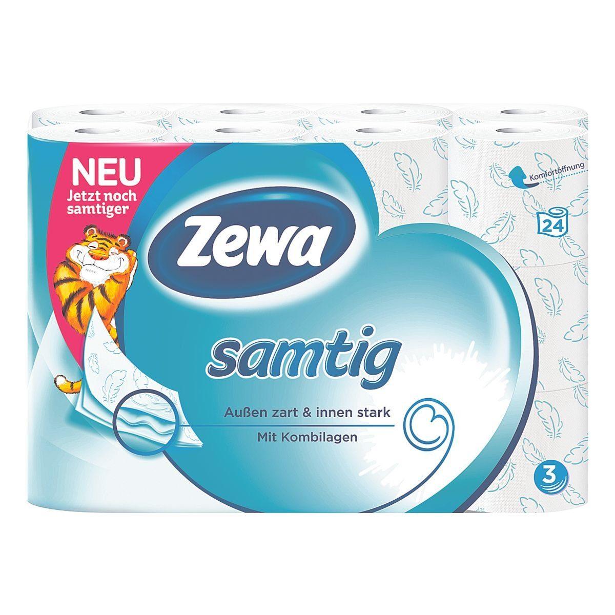 Zewa Toilettenpapier »samtig«
