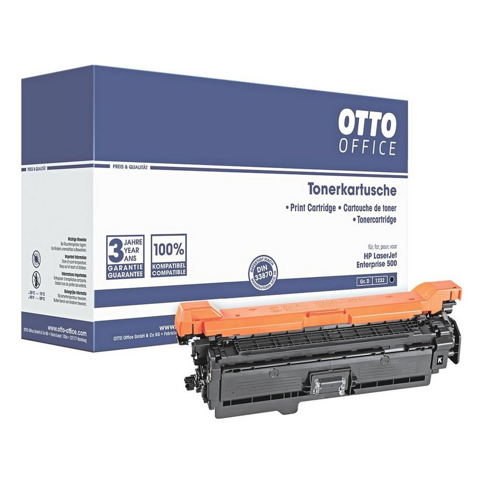 otto office standard toner ersetzt hp ce400a no 507a online kaufen otto. Black Bedroom Furniture Sets. Home Design Ideas