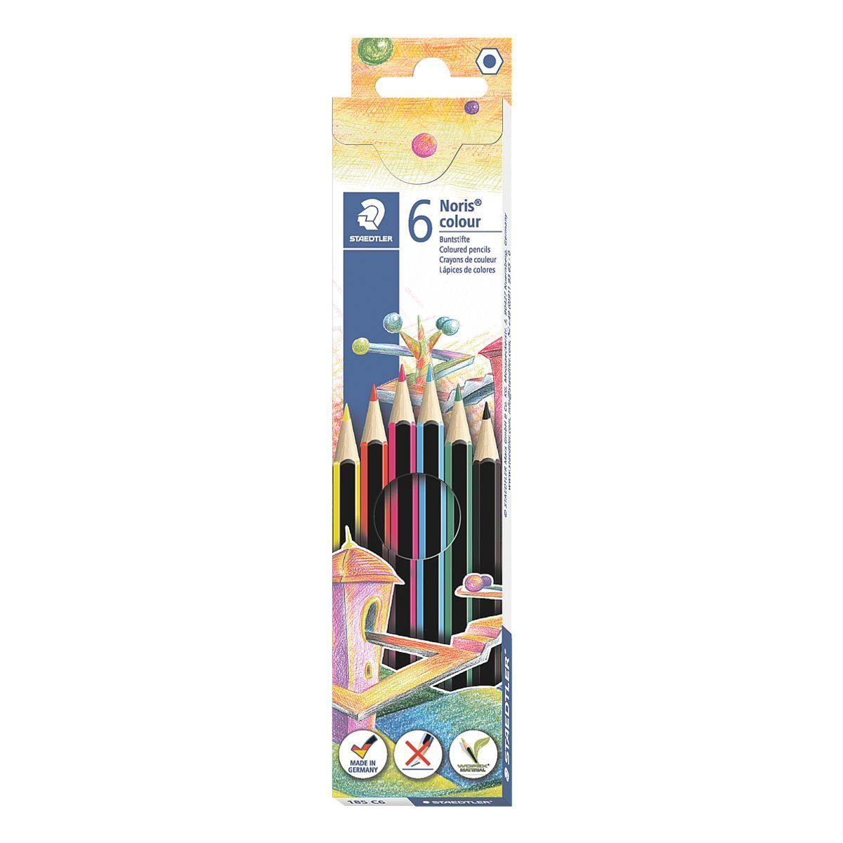 Staedtler 6er-Pack Buntstifte »Noris Colour«