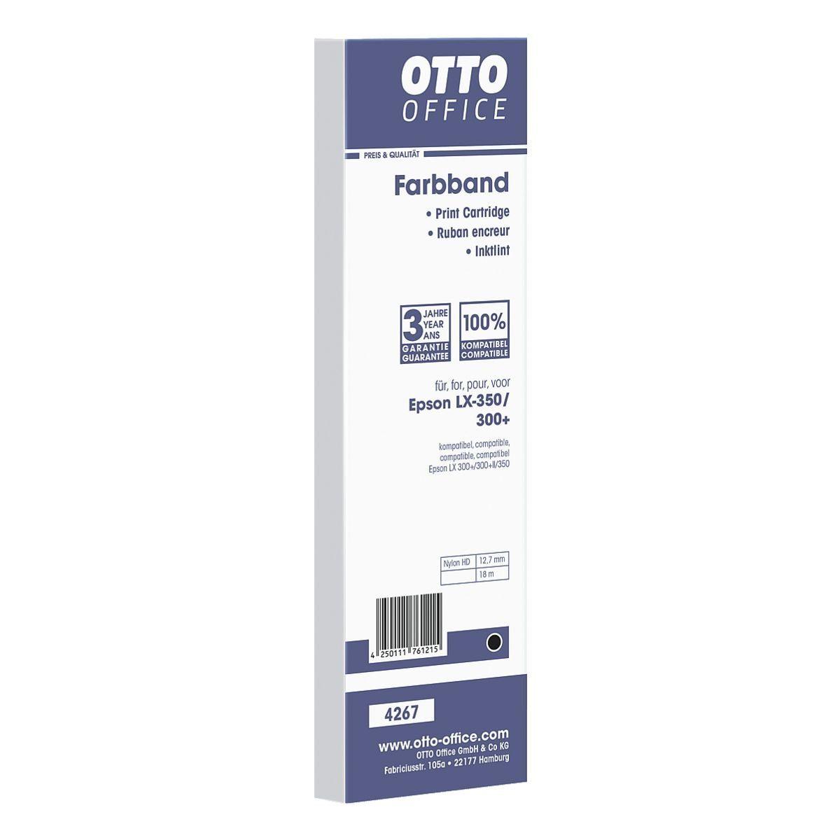 OTTOOFFICE STANDARD Nylonfarbband ersetzt Epson Nr. LX-350/300+ »S015637«