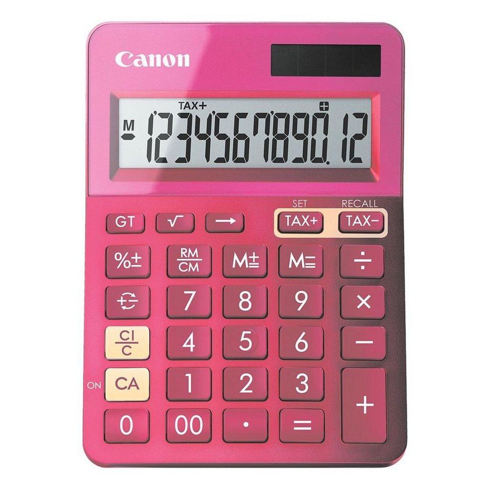 Canon Tischrechner »LS-123K« in pink