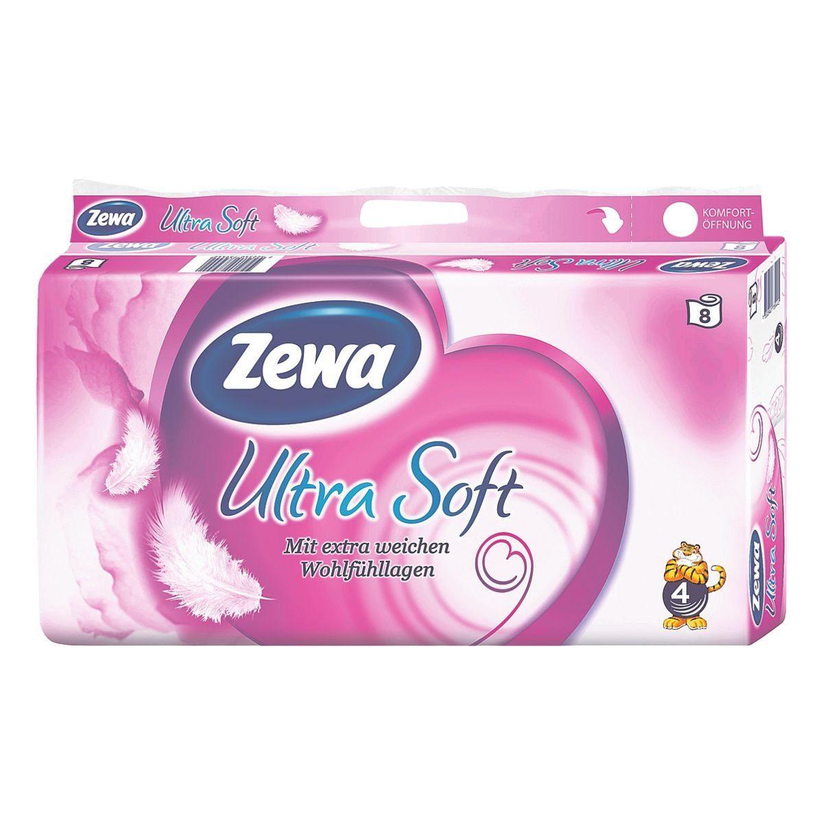 Zewa Toilettenpapier »Ultra Soft«