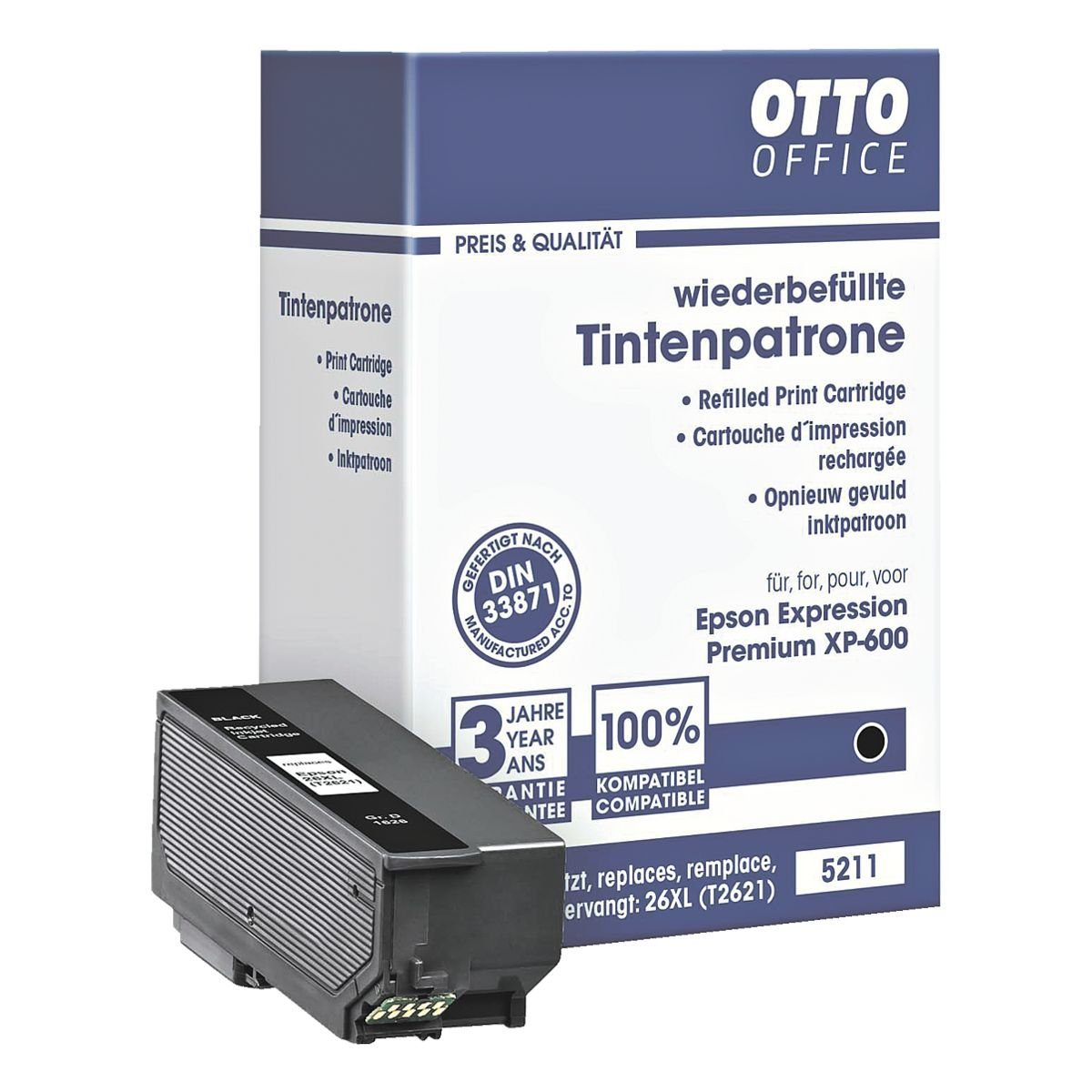 OTTO Office Tintenpatrone ersetzt Epson »T2621 XL«