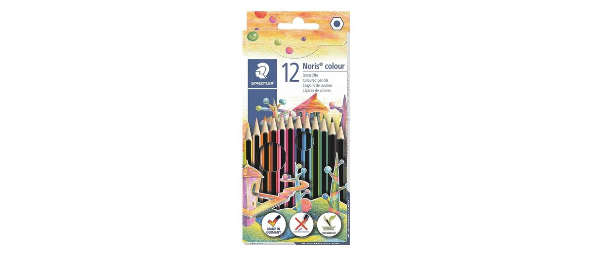 Staedtler 12er-Pack Buntstifte »Noris Colour«