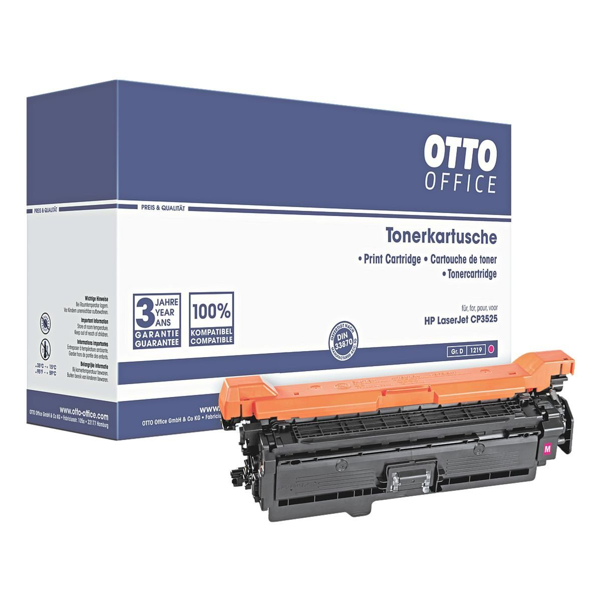 OTTO Office Toner ersetzt HP »CE253A« No. 504A