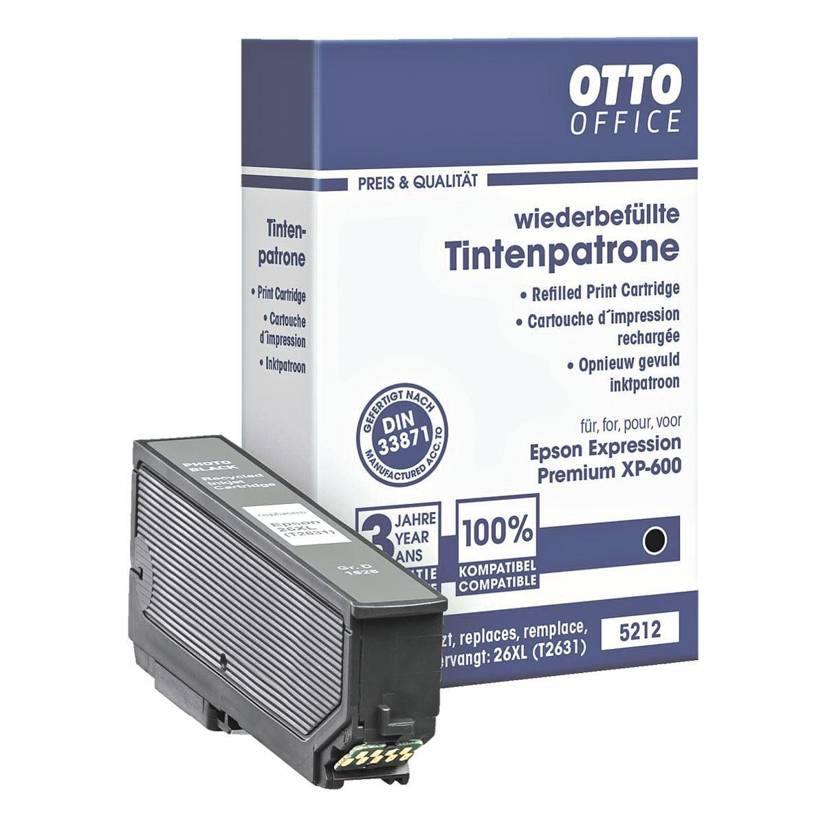 OTTO Office Tintenpatrone ersetzt Epson »T2631 XL«