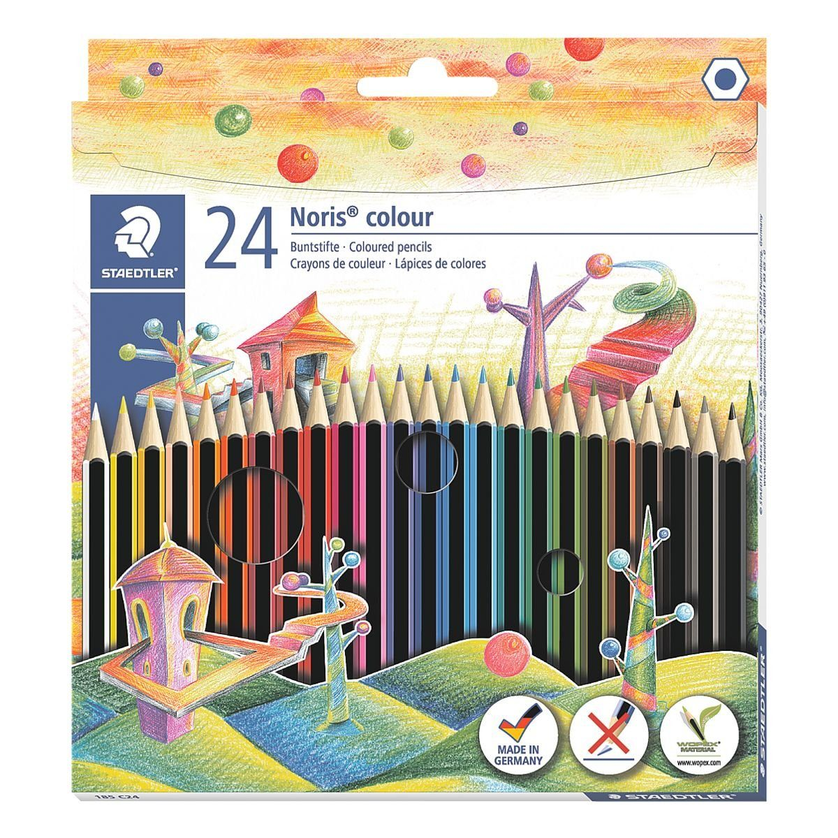 Staedtler 24er-Pack Buntstifte »Noris Colour«