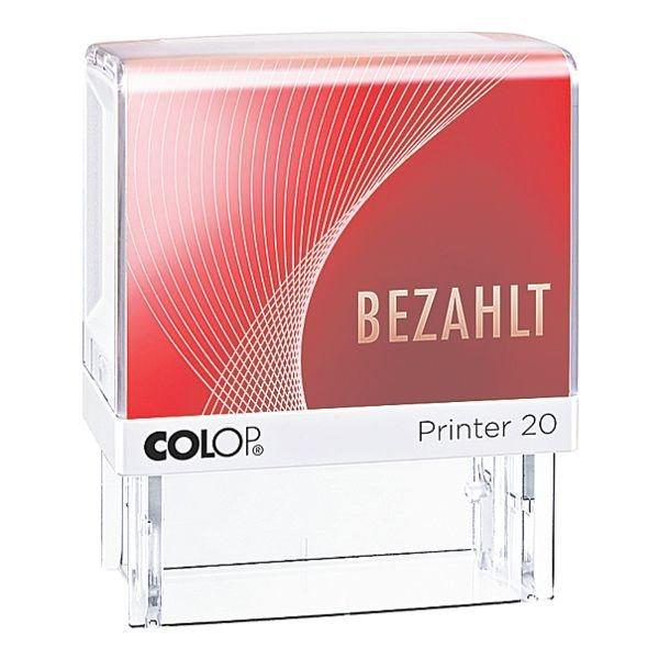 Colop Textstempel »Printer 20/L Bezahlt«
