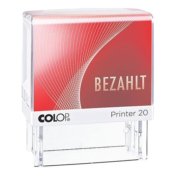 Colop Textstempel »Printer 20/L Bezahlt«
