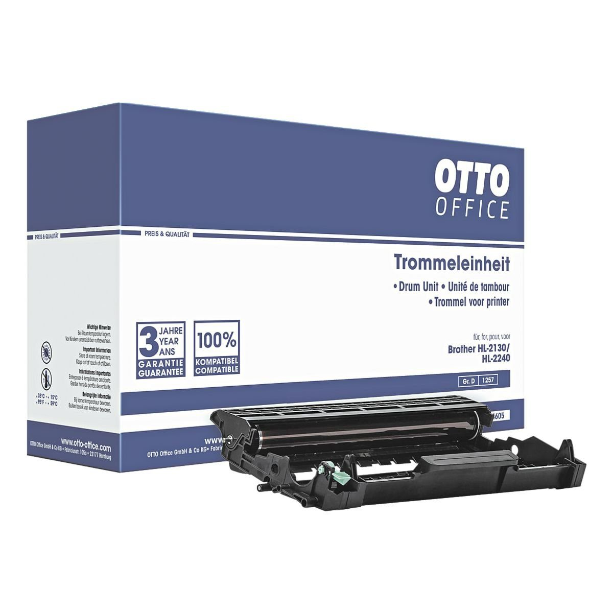 OTTO Office Trommel (ohne Toner) ersetzt Brother »DR-2200«