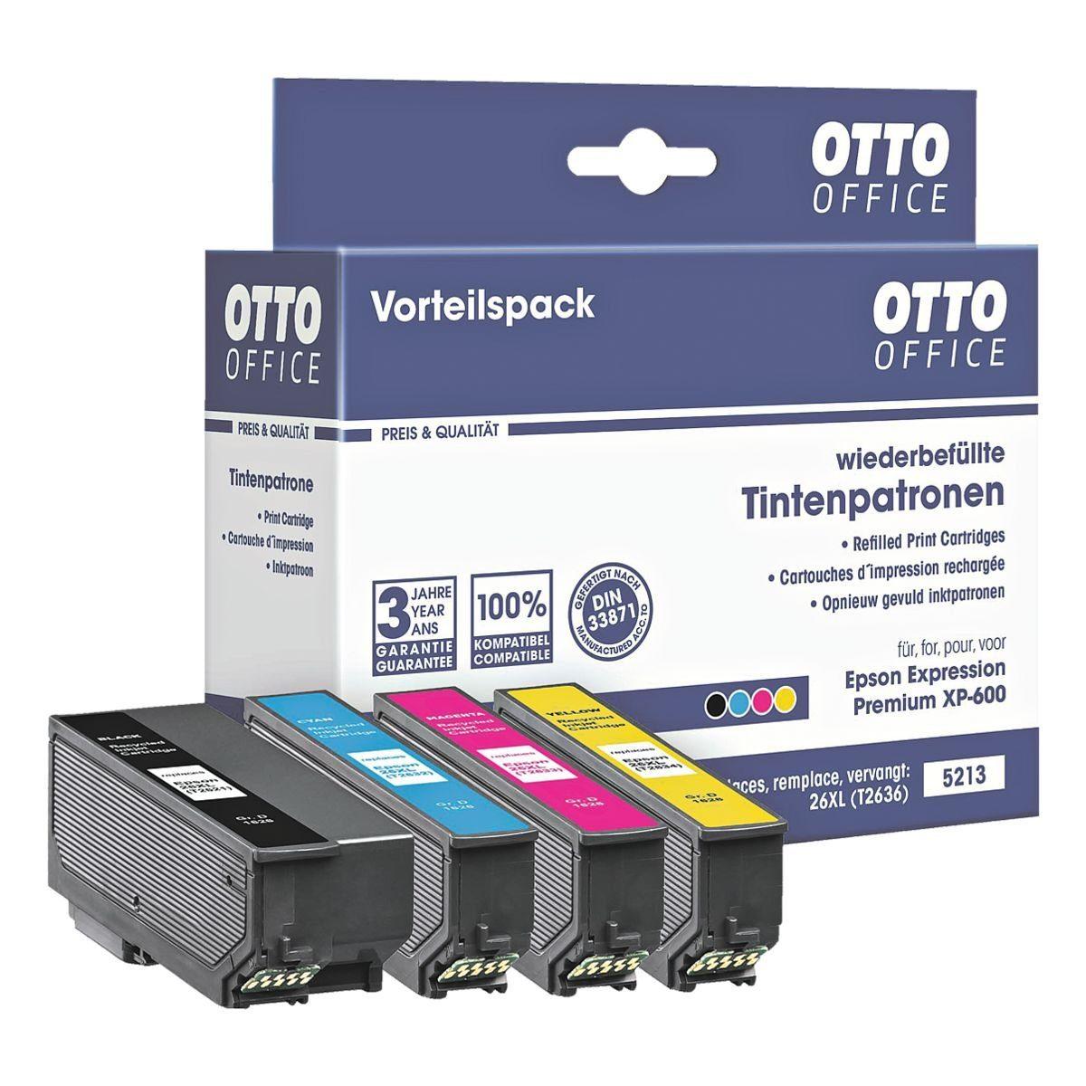 OTTO Office Standard Tintenpatronen-Set ersetzt Epson »T2636 XL-Set«