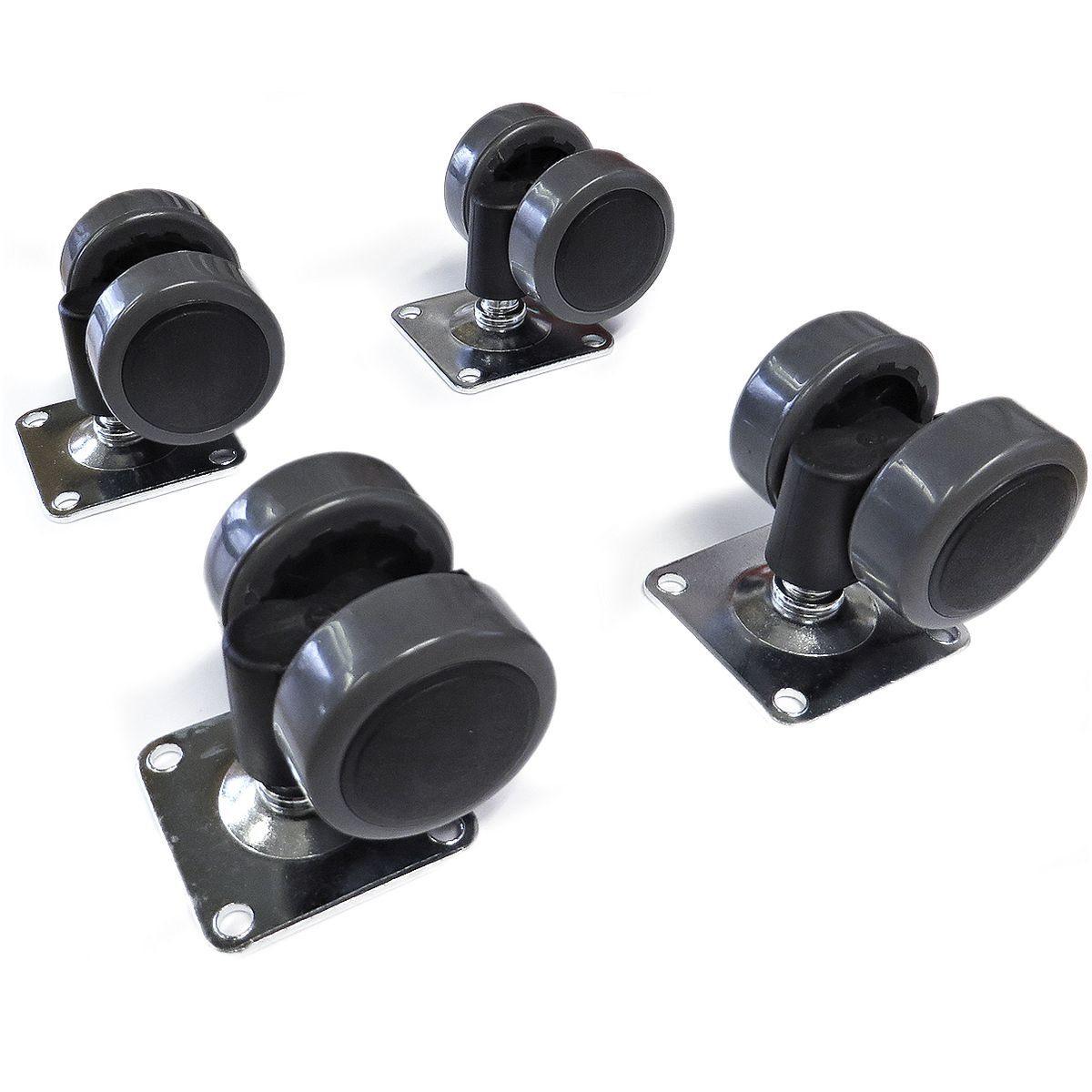 Parkettrollensatz für Rollcontainer »Objekt Plus«