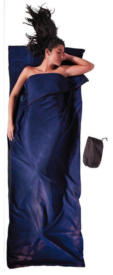 Cocoon Schlafsack »Microfleece Blanket/Sleeping Bag Microfleece« in blau