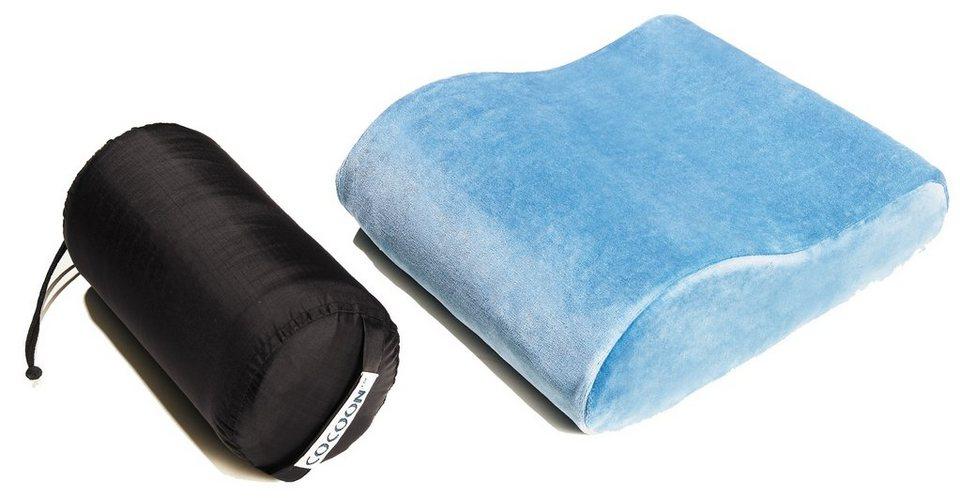 Cocoon Reisekissen »Memory Foam Travel Pillow« in blau
