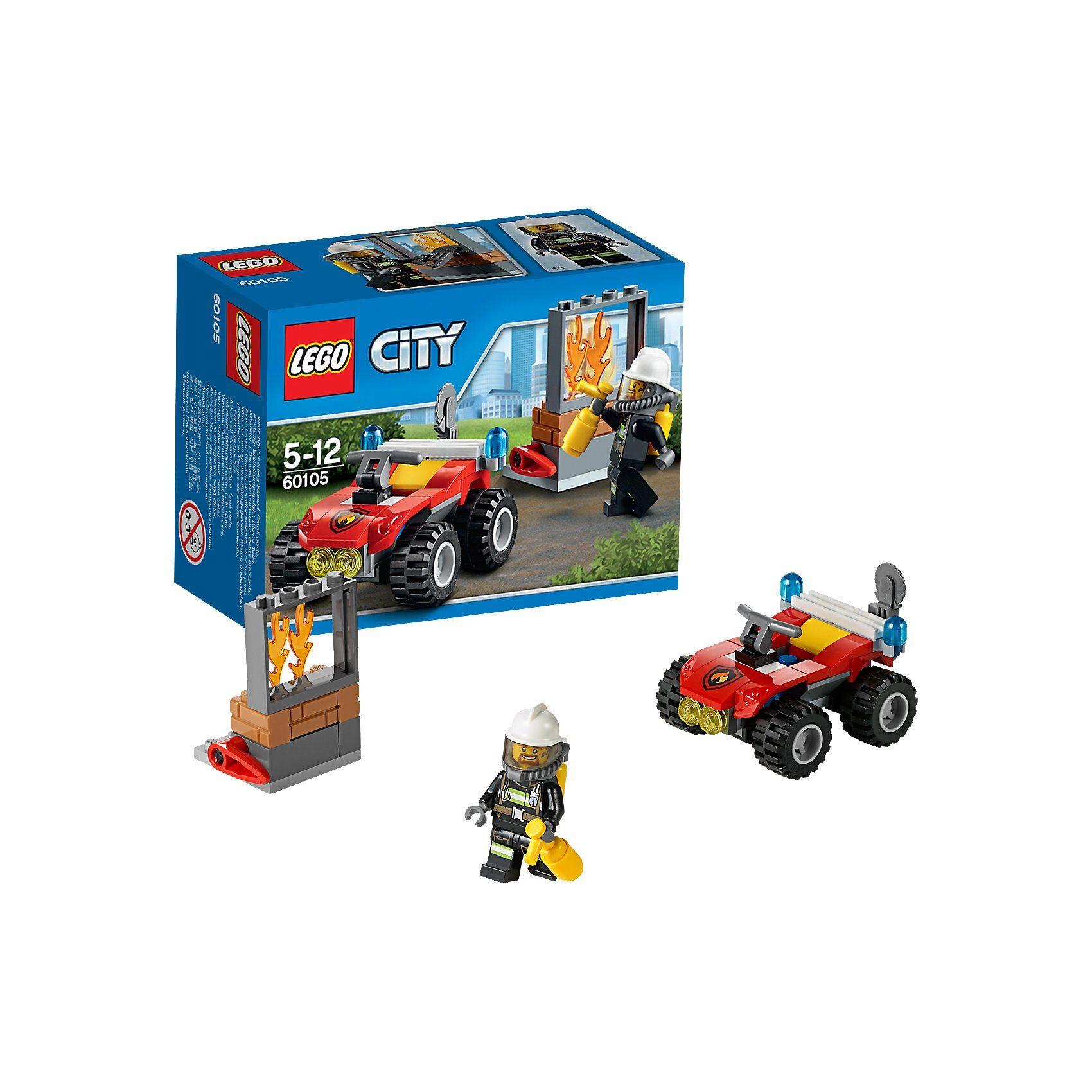 LEGO 60105 City Feuerwehr-Buggy