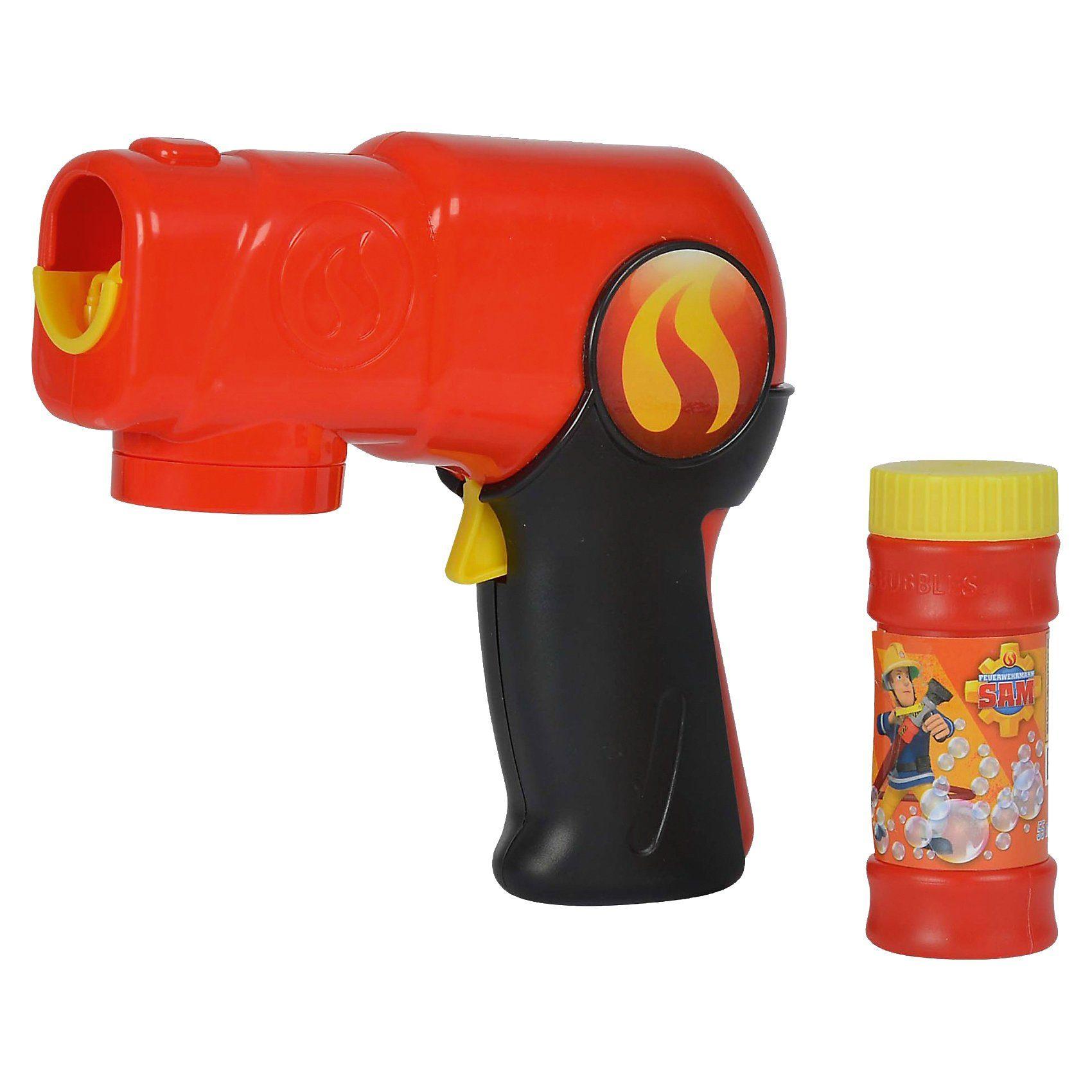 Simba Seifenblasenpistole Feuerwehrmann Sam