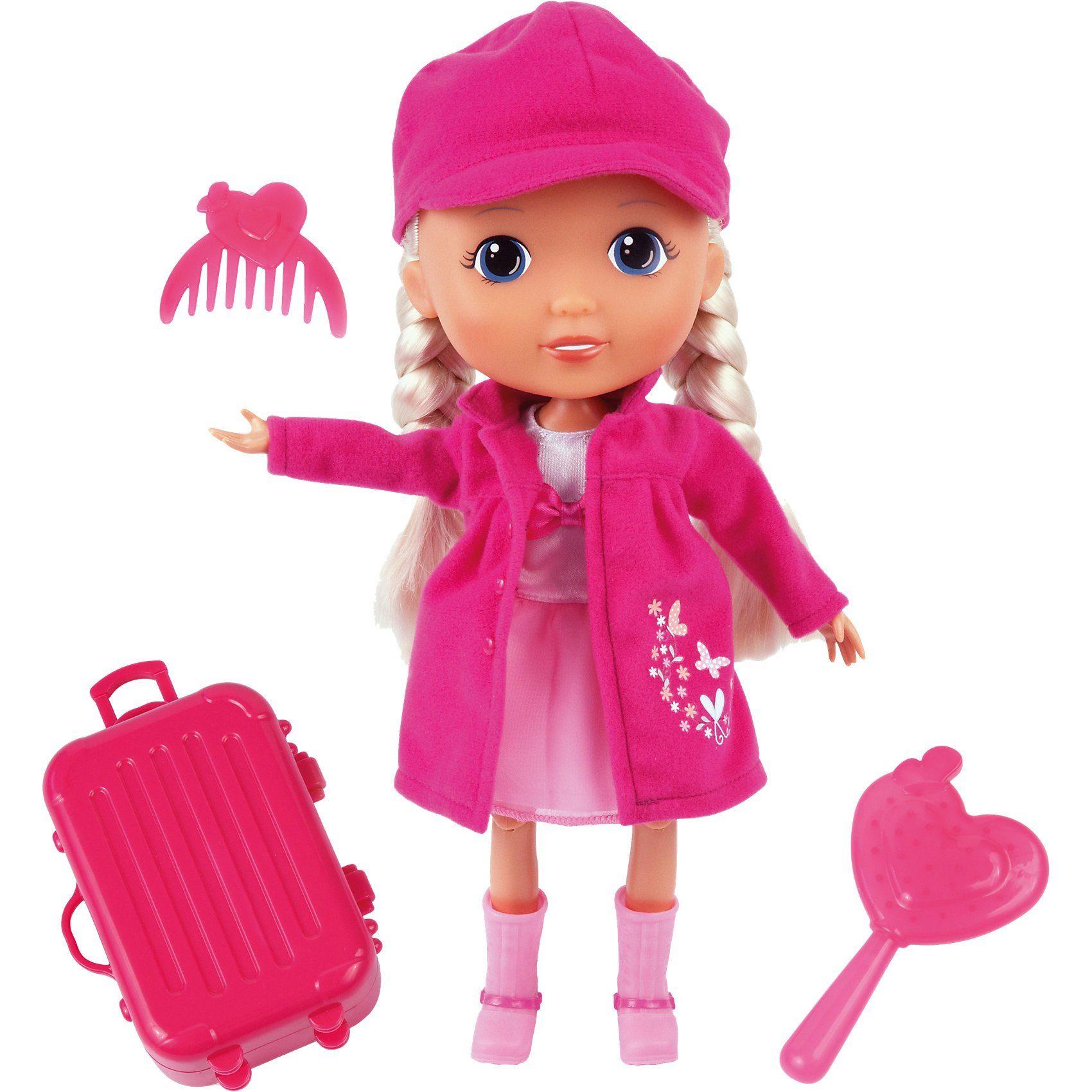 BAYER Puppe Lisa 30 cm Travel Set