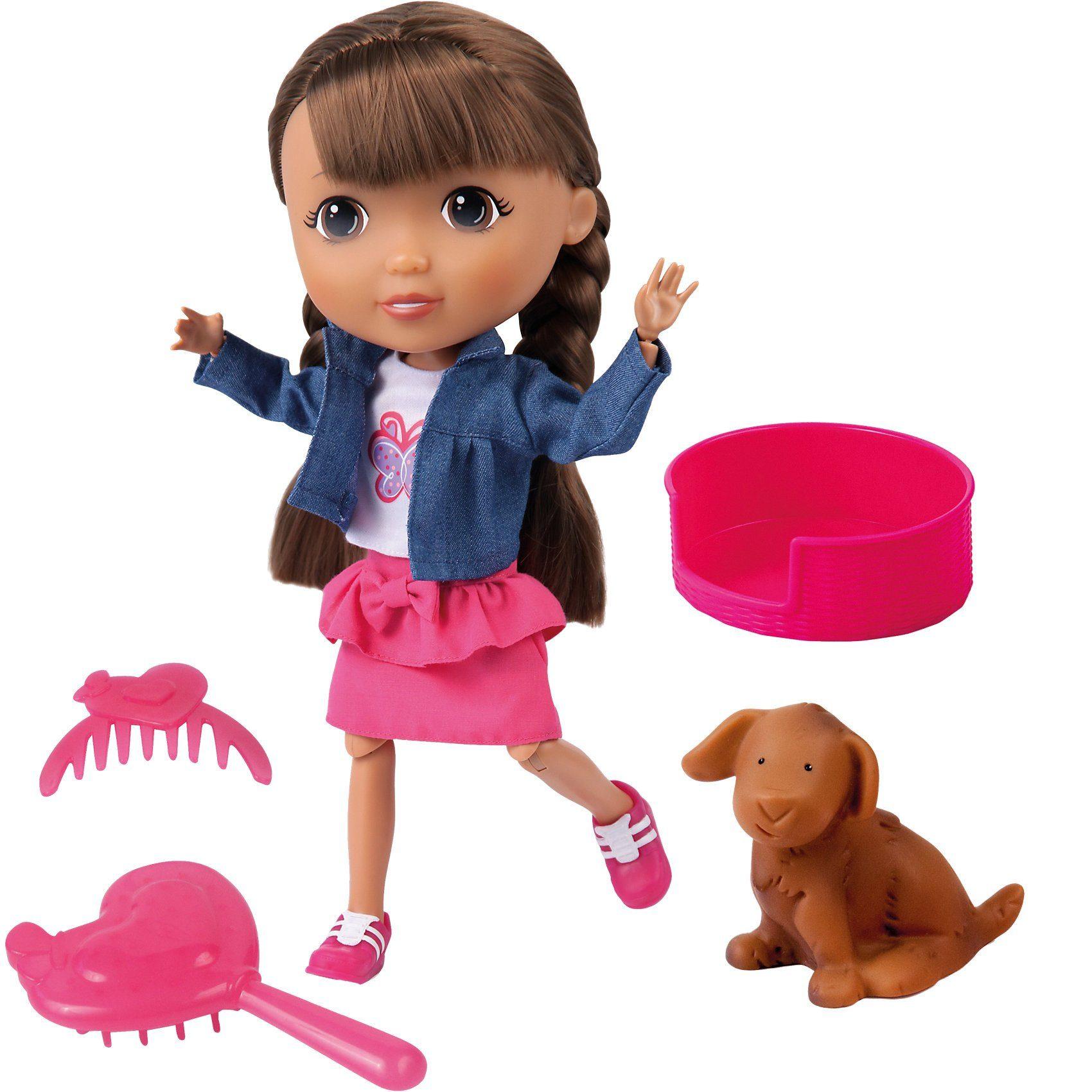 BAYER Puppe Lisa 30 cm Pet Lover Set