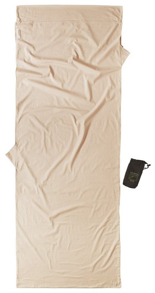 Cocoon Schlafsack »Insect Shield TravelSheet Inlet Cotton« in beige