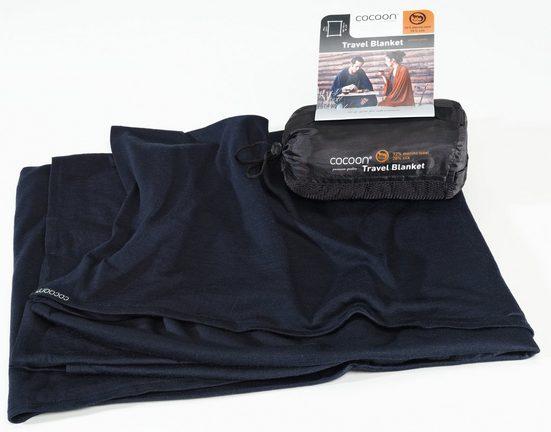 Cocoon Reisekissen »Travel Blanket Merino Wool/Silk«