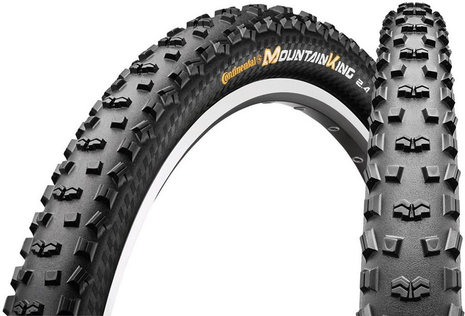 "Continental Fahrradreifen »Mountain King II 2.4 Performance 27,5"" faltbar«"