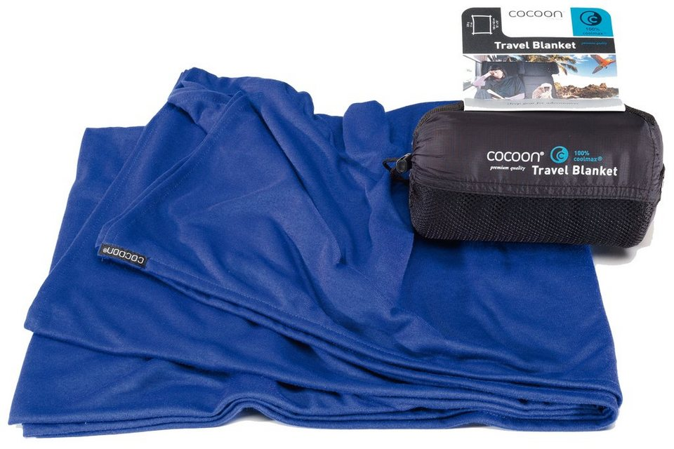 Cocoon Reisedecke »Travel Blanket Coolmax« in blau