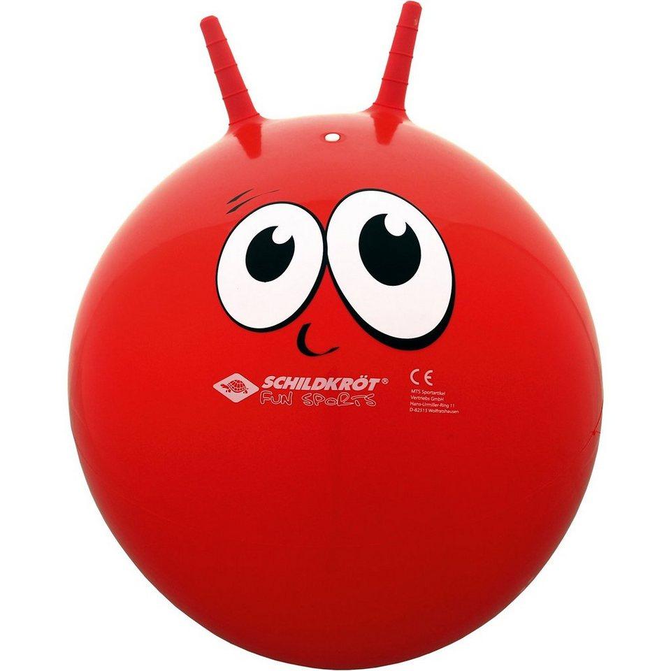 Schildkröt Funsports Schildkröt-Funsports Hüpfball / Sprungball mit Griffen in rot
