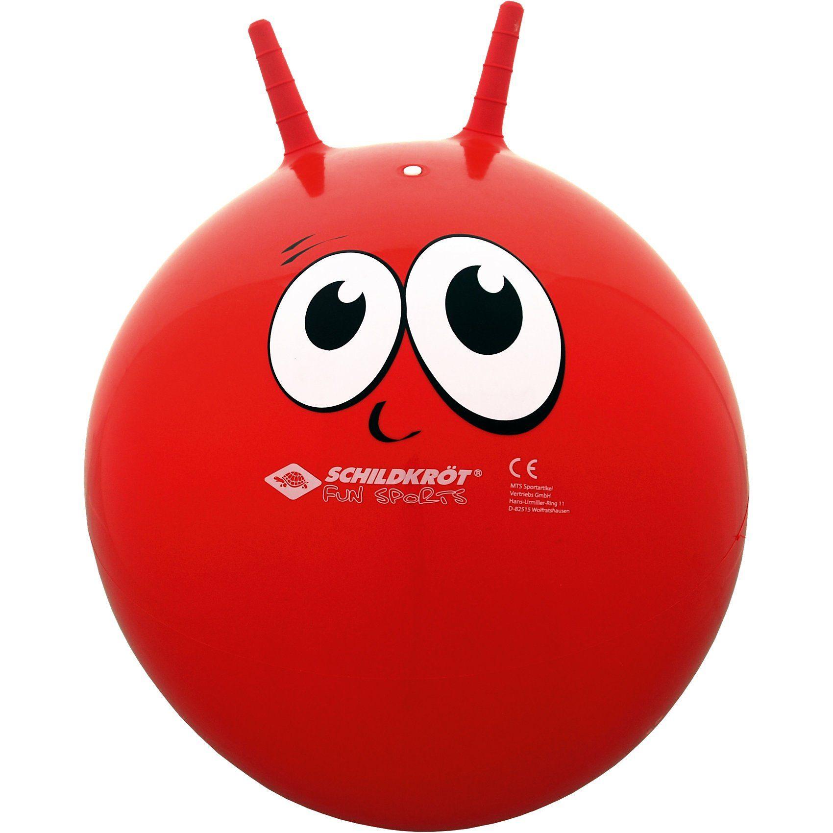 Schildkröt Funsports Hüpfball / Sprungball mit Griffen