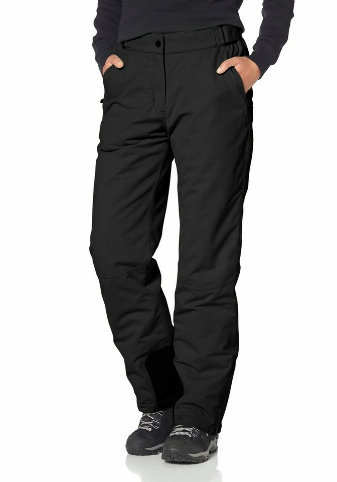 Maier Sports Skihose in schwarz