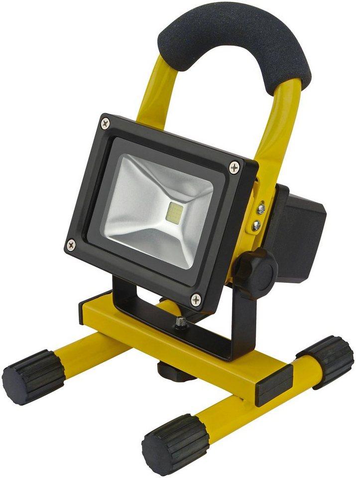 LED-Strahler »Akku« in gelb