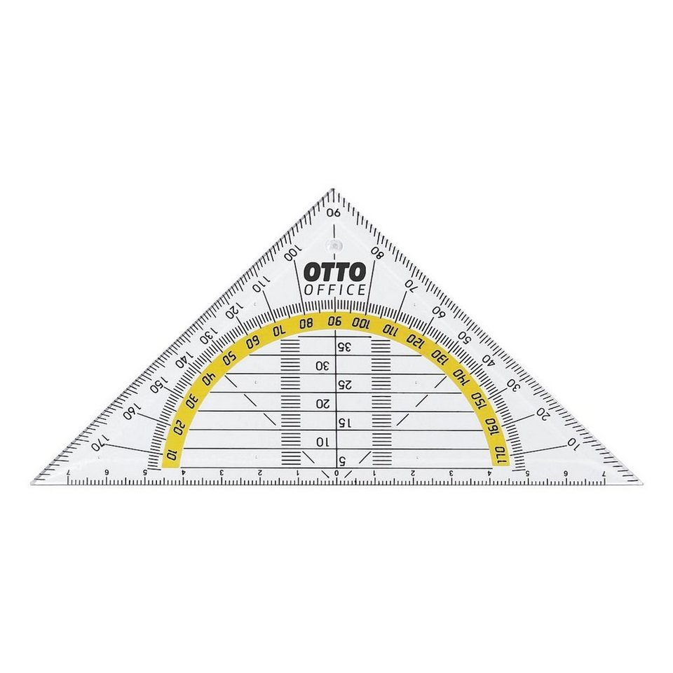 OTTO Office Standard Geometriedreieck ohne Griff