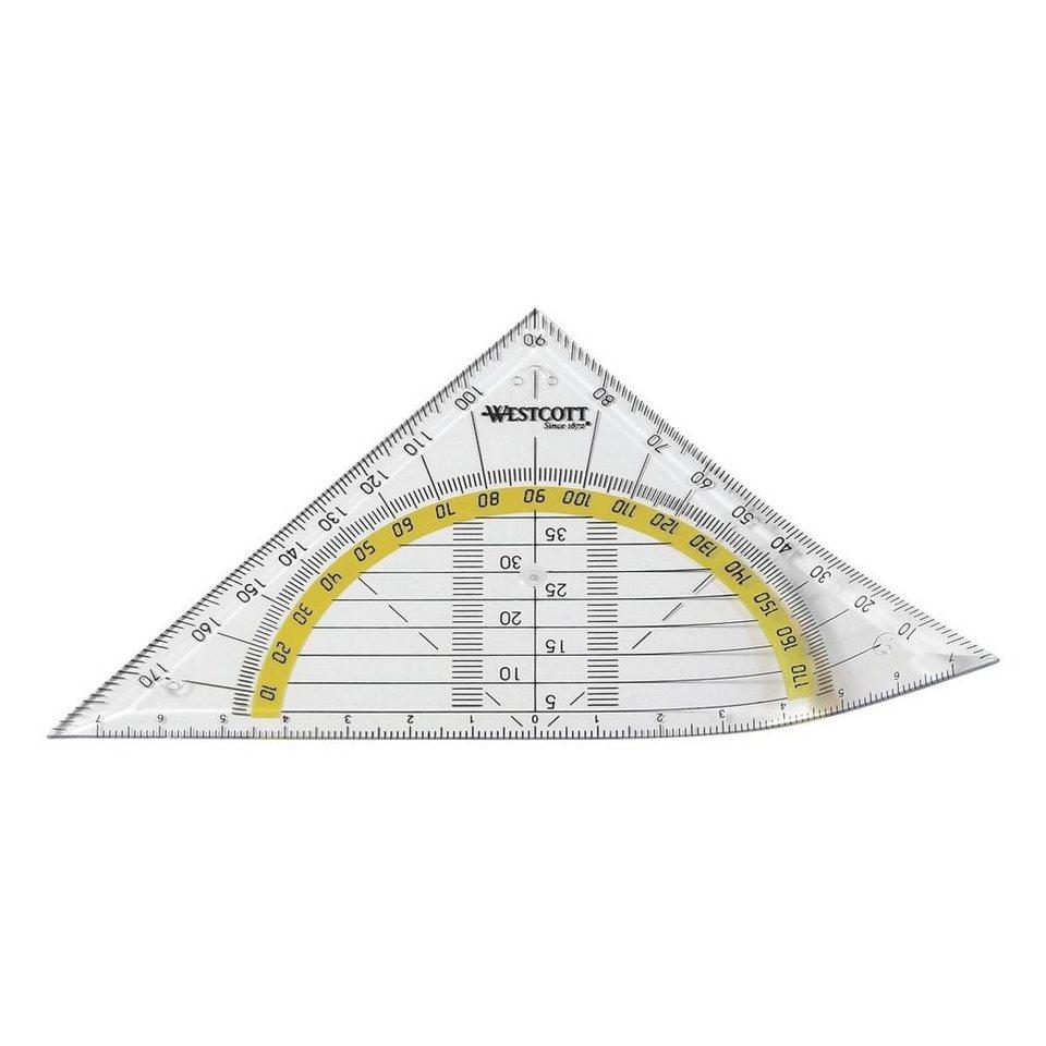 Westcott Geometriedreieck ohne Griff