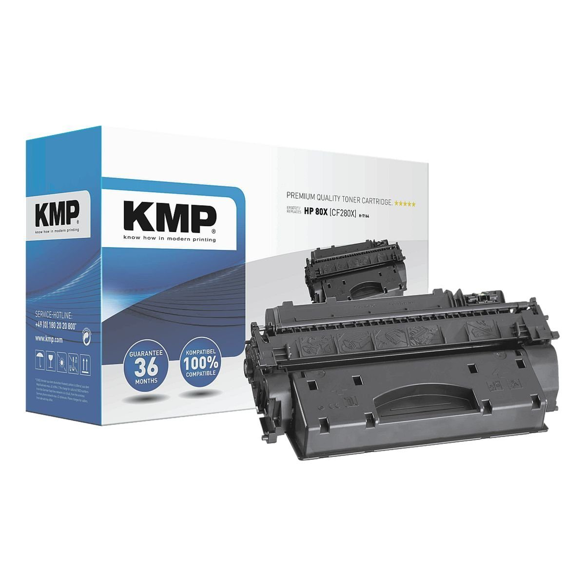 KMP Toner ersetzt HP »CF280X« 80X