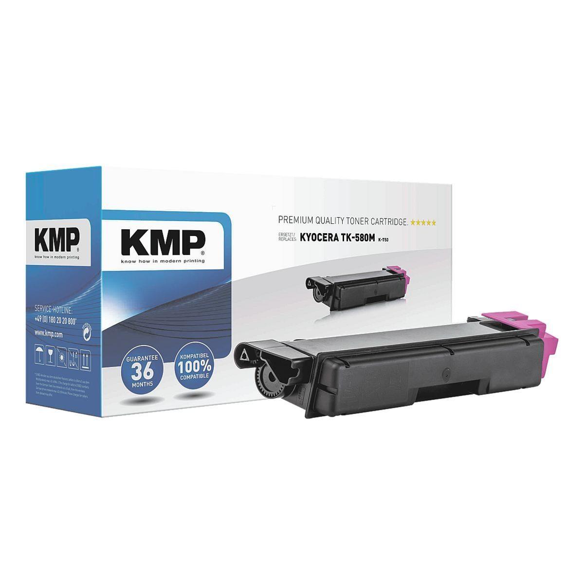 KMP Tonerpatrone ersetzt Kyocera »TK-580M XXL«