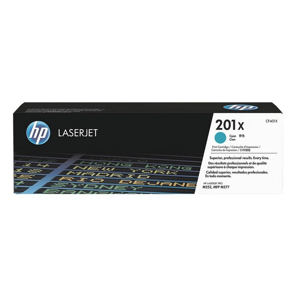 HP Druckkassette »HP CF401X« HP 201X