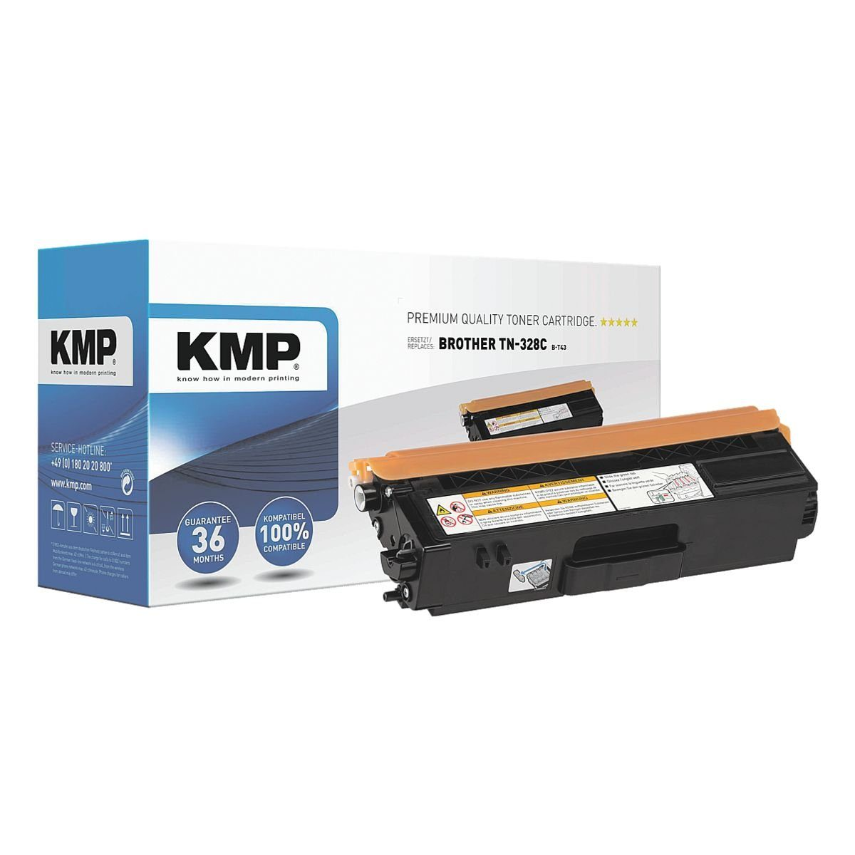 KMP Toner ersetzt Brother »TN-328C«