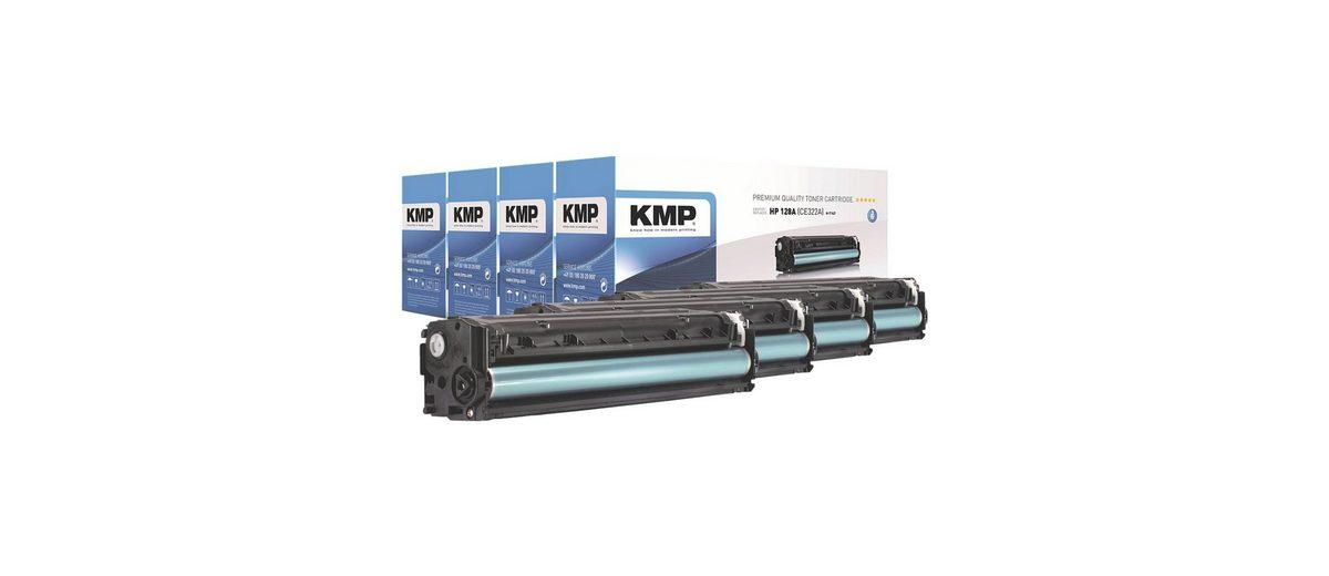 KMP Toner-Set ersetzt HP »CE320A / CE321A / CE322A / CE323A...