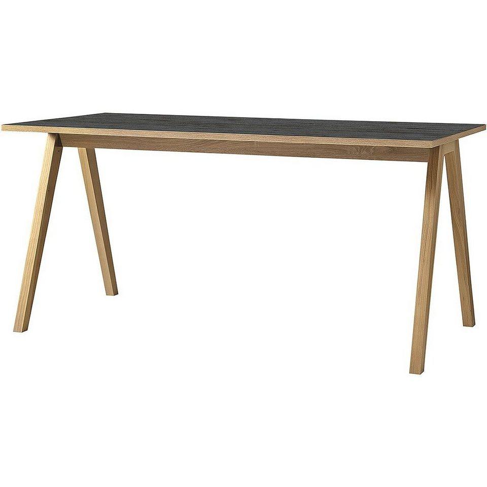 Schreibtisch in anthrazit/Sonoma-...