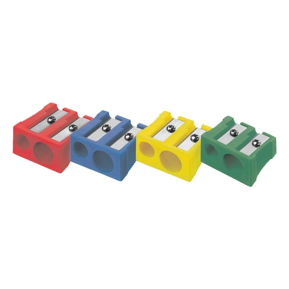 Westcott Metall-Doppelanspitzer farbig sortiert