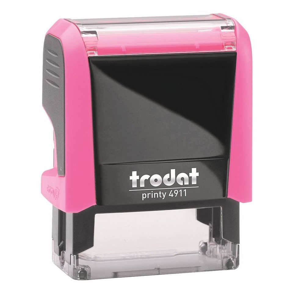TRODAT Textstempel »Printy 4911« ohne Logo in neonpink