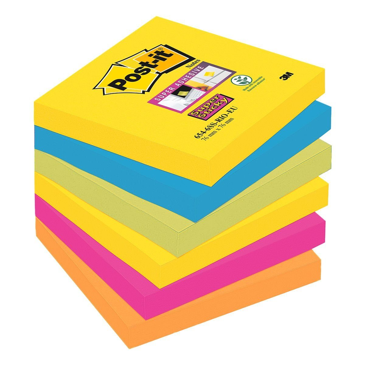 Post-it Super Sticky Haftnotizen »Notes«