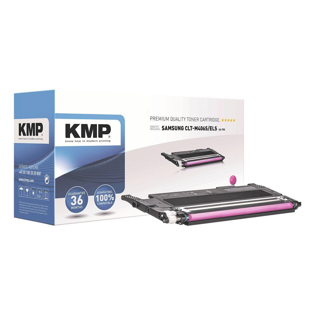 KMP Toner ersetzt Samsung »CLT-M406S/ELS« K406S M